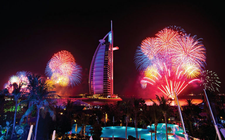Happy New Year in Dubai